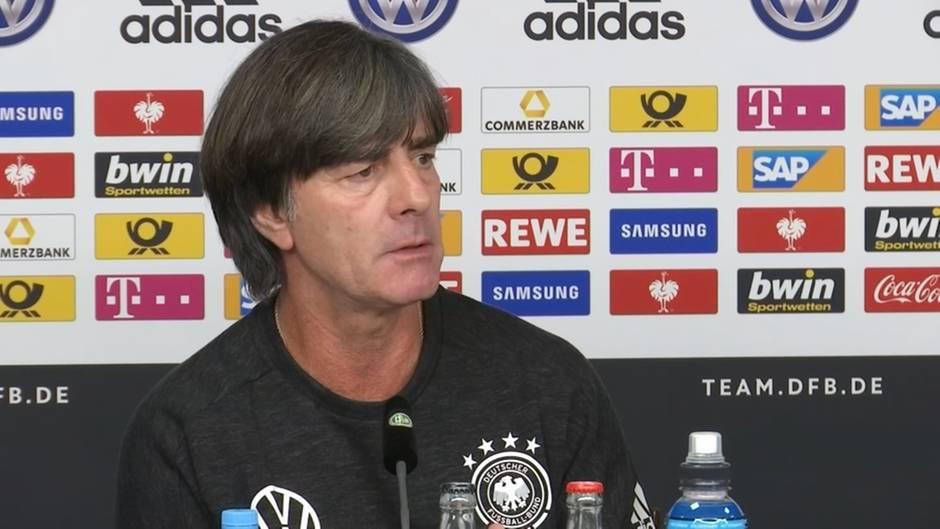 """Video: Bundestrainer Löw: """"Die Stimmung ist verdammt gut"""""""
