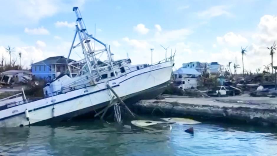 """Hurrikan """"Dorian"""": Ausmaß der Zerstörung wird deutlich – mehr als 30 Tote"""