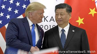 Handelskonflikt China-USA (picture-alliance/dpa/S. Walsh)