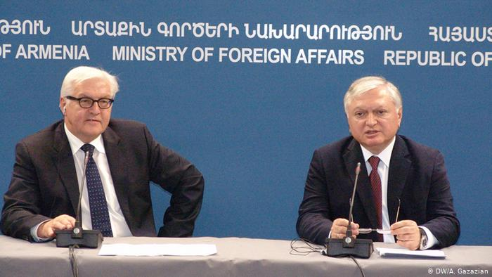 Frank-Walter Steinmeier in Armenien