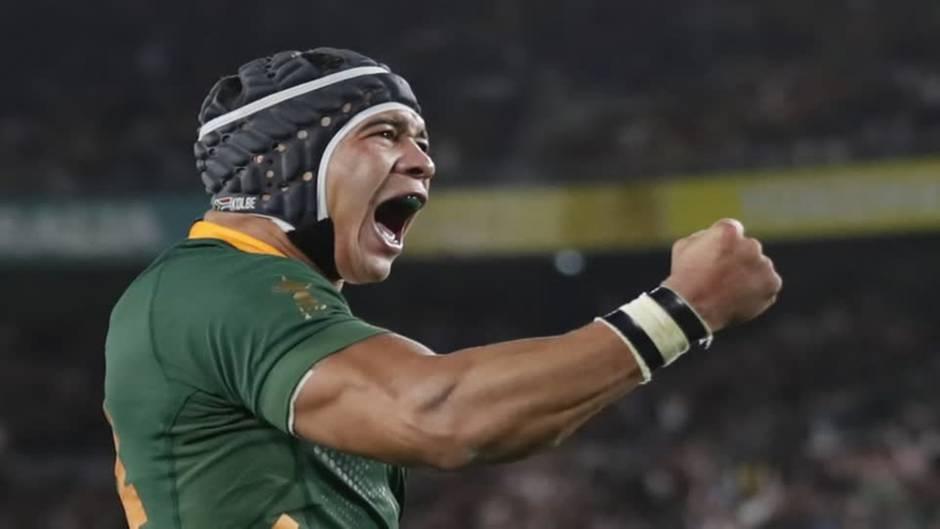Video: Südafrika ist Rugby-Weltmeister
