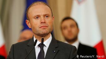 Malta Valetta Premierminister Joseph Muscat (Reuters/Y. Nardi)