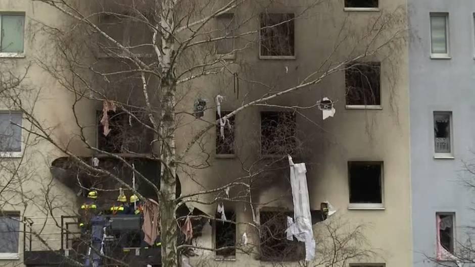 Blankenburg: Mehrfamilienhaus gesprengt: Polizei geht von Gasexplosion aus