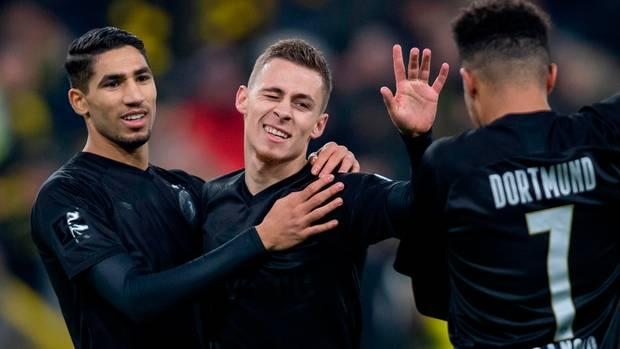 Der BVB überrannte Fortuna Düsseldorf mit 5:0