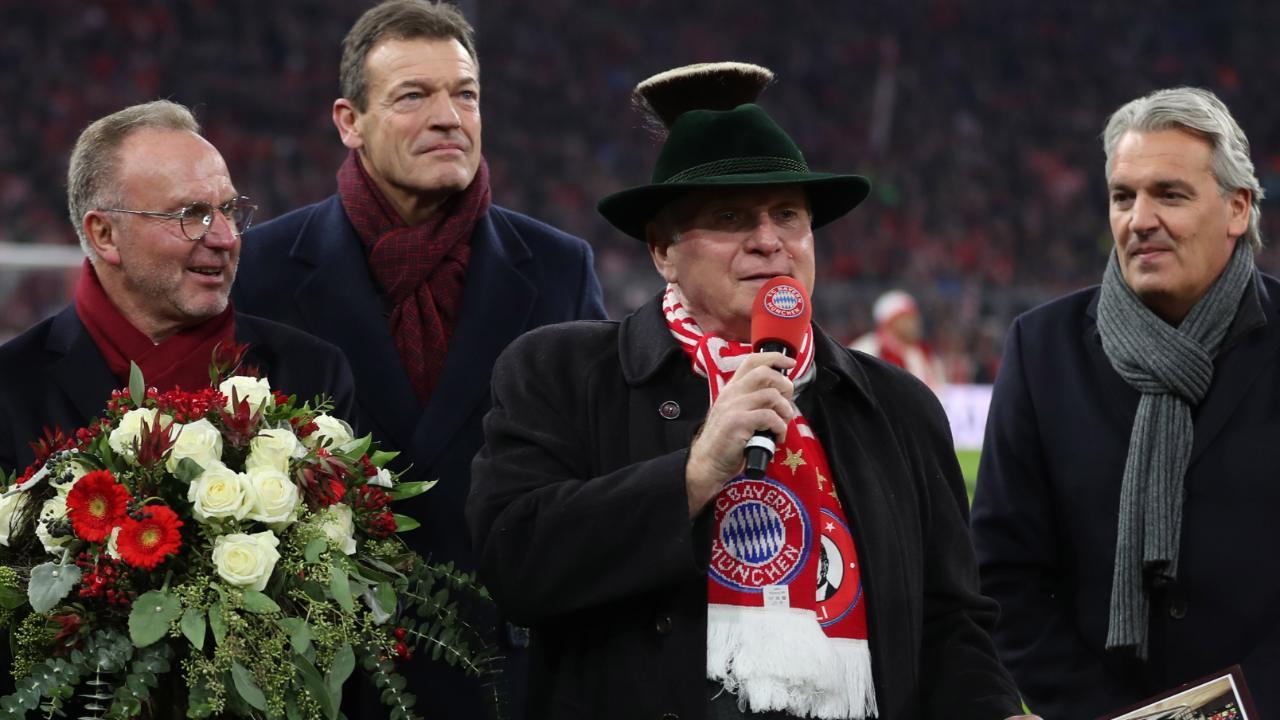 Stadion-Geflüster: Das bekam Uli Hoeneß zum Abschied