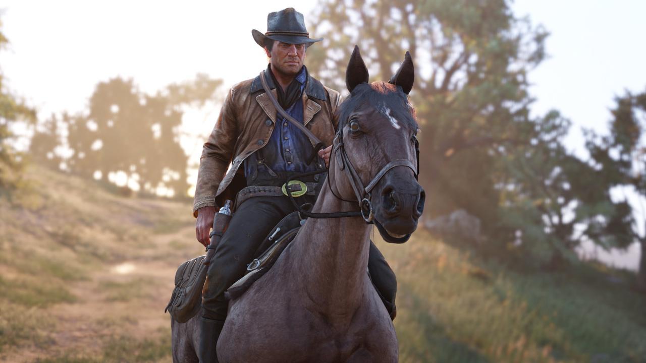 """Fest im Sattel: Gemeinsam mit Arthur Morgan erlebt der Spieler den Niedergang des Wilden Westens in """"Red Dead Redemption 2"""""""