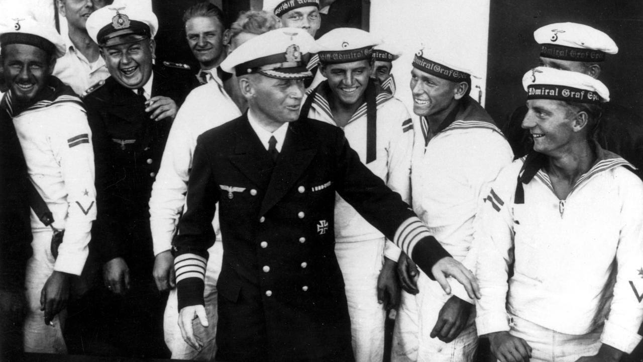 """""""Admiral Graf Spee"""": War Kapitän Langsdorff ein Held oder Nazi?"""