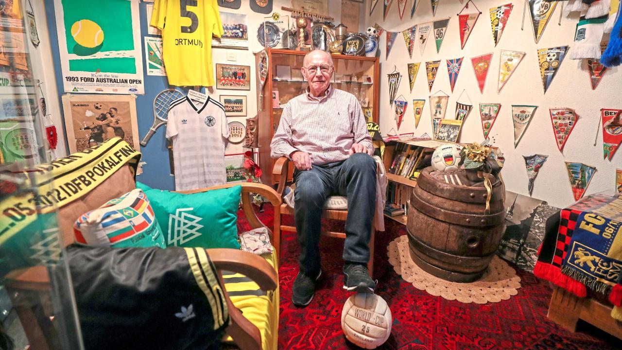 Wolfgang Paul, Borussia Dortmunds Europacup-Held von 1966, wird 80