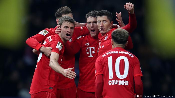 Bundesliga Hertha BSC - Bayern München (Getty Images/AFP/R. Hartmann)