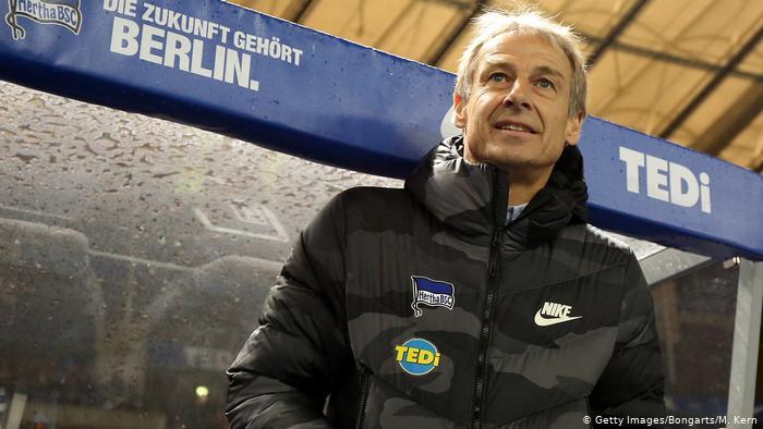 Fußball Bundesliga   Hertha BSC vs. Borussia Mönchengladbach   Jürgen Klinsmann (Getty Images/Bongarts/M. Kern)