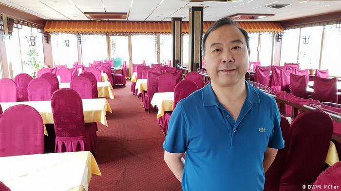 China Schiff Ocean Paradise in Bonn (DW/M. Müller)