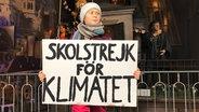 Eine Wachsfigur der schwedischen Klimaaktivistin steht im Panoptikum in Hamburg. Foto: Anna Rüter
