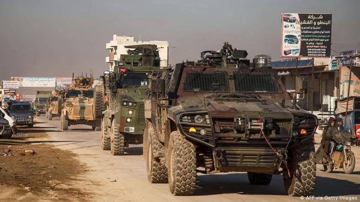 Syrien Militärfahrzeuge der Türkei (AFP via Getty Images)