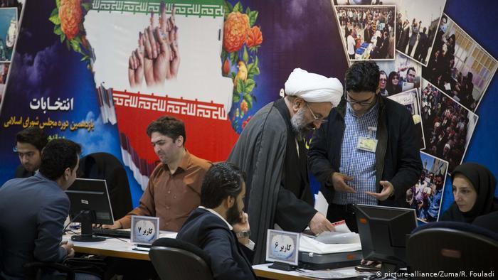Iran Teheran Registrierung für Parlamentswahlen 2020 (picture-alliance/Zuma/R. Fouladi)