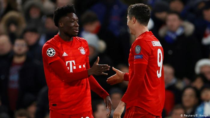 UEFA Champions League | FC Chelsea - Bayern München | 3. TOR Bayern (Reuters/E. Keogh)