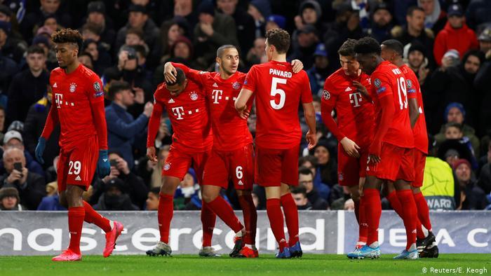 UEFA Champions League | FC Chelsea - Bayern München | 1. TOR Bayern (Reuters/E. Keogh)