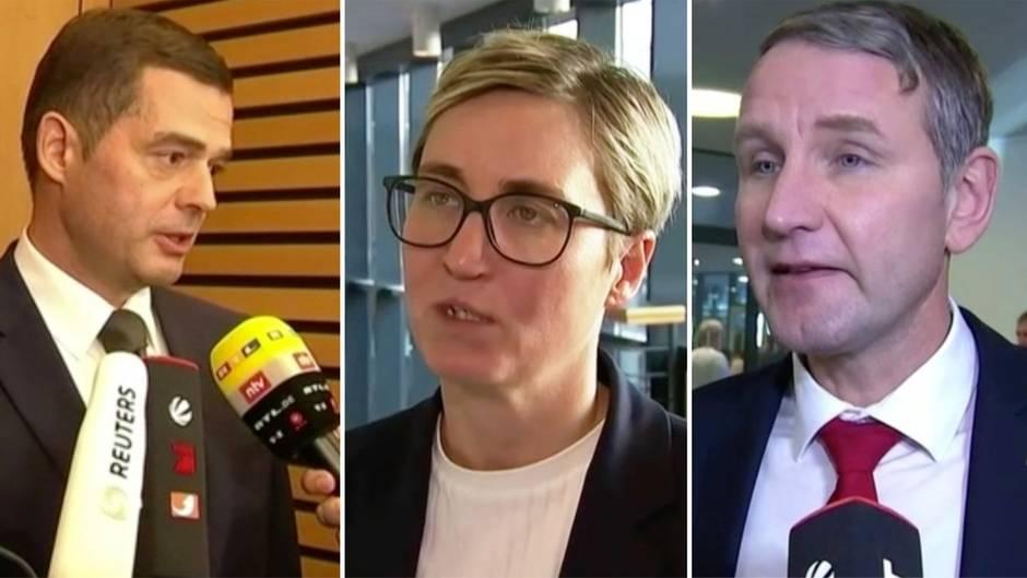 """Thüringen: Reaktionen Ministerpräsidentenwahl – """"Das hat nichts mit Demokratie zu tun"""""""