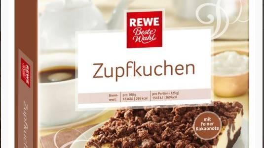 """Rewe ruft den Russischen """"Beste Wahl Zupfkuchen"""" aufgrund von Kunststoffteilen zurück"""