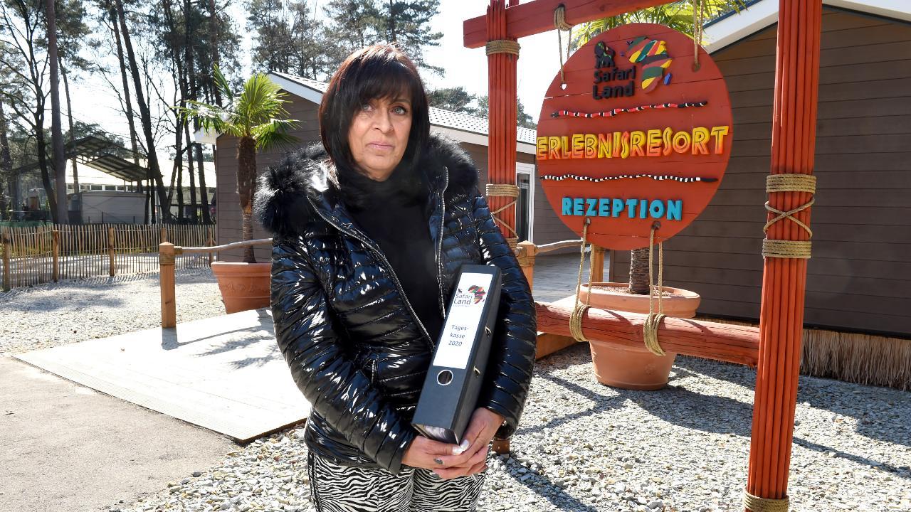 Park-Chefin Elisabeth Wurms (62) hofft, dass die Saison bald starten kann