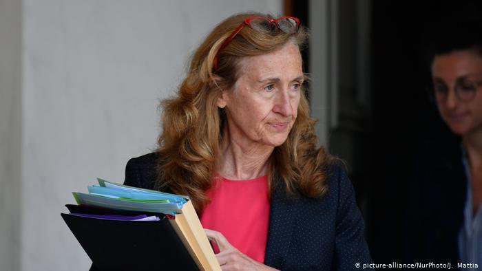 Frankreich Justizministerin Nicole Belloubet (picture-alliance/NurPhoto/J. Mattia)