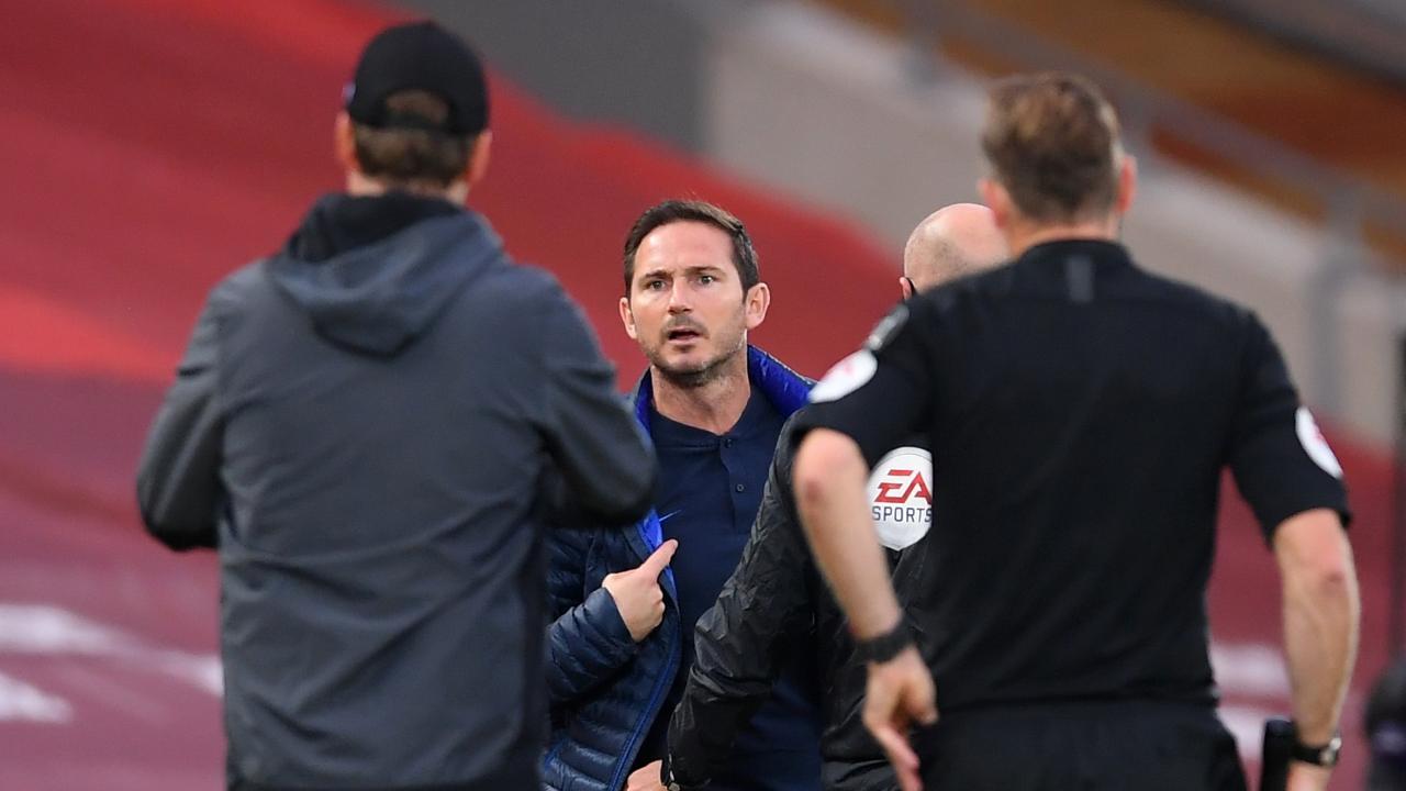Blues-Trainer Lampard ist im Attacke-Modus, fühlt sich und Chelsea benachteiligt