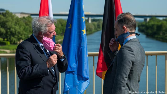 Außenminister Maas reist nach Luxemburg (picture-alliance/dpa/O. Dietze)