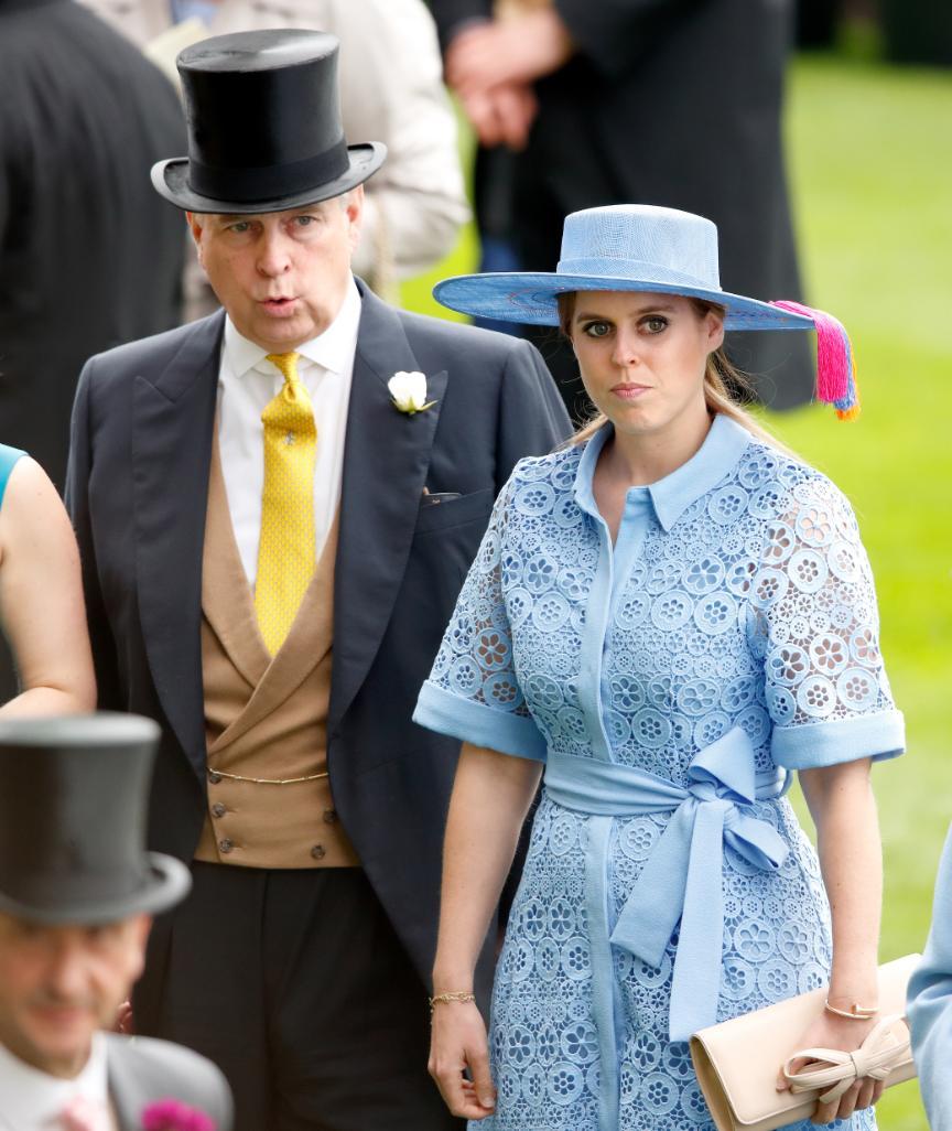 Prinz Andrew und seine Tochter Beatrice im Sommer 2019