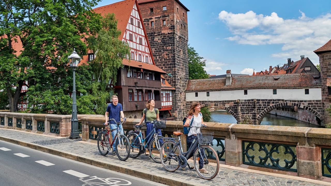 Ein Gesamtkonzept soll mehr Räume in der Innenstadt für Fahrradfahrer schaffen.