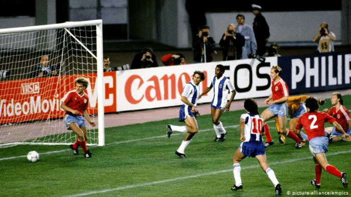 Europapokal Finale Porto v Bayern München 1987 (picture-alliance/empics)
