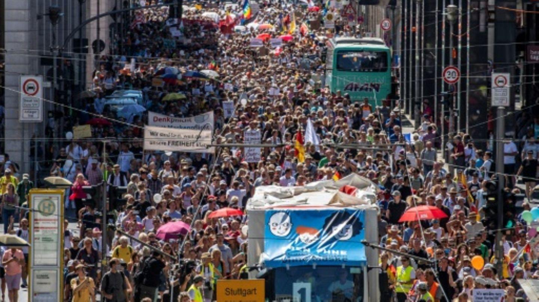 Demo gegen Corona-Politik am Samstag in Berlin