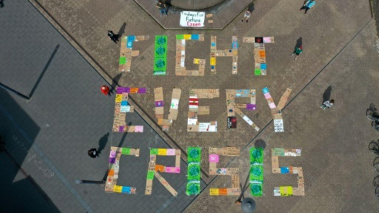 Eine frühere Protestveranstaltung von Fridays for Future
