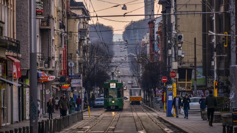 Bulgarien - Straßenbahn