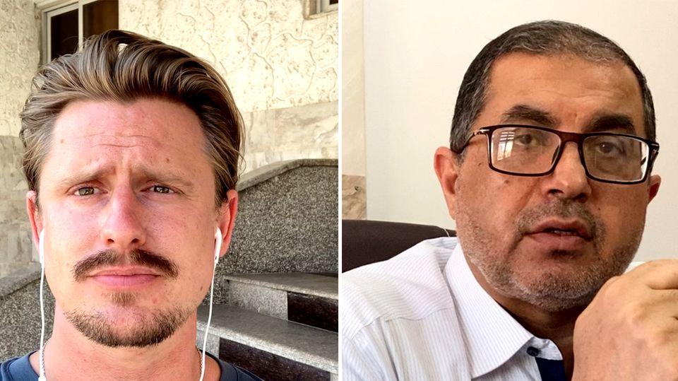 Hamas-Interview: Jonas Breng im Gaspräch mit Hamas-Anführer Dr. Basem Naim