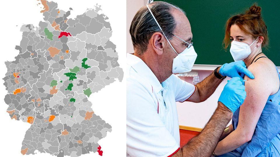 """Deutlicher Anstieg der Neuinfektionen: Hamburg Inzidenz-Spitzenreiter – Impfstatus erreicht """"Schneckentempo"""""""