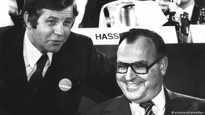Deutschland CDU-Parteivorsitz Helmut Kohl