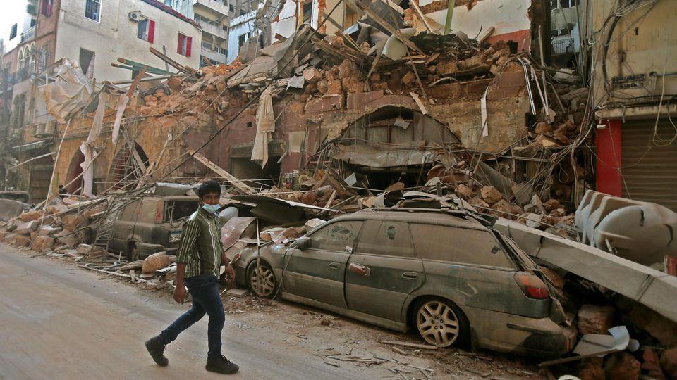 """""""Wir Libanesen sind viel gewöhnt, aber das gestern war der große Knall"""""""