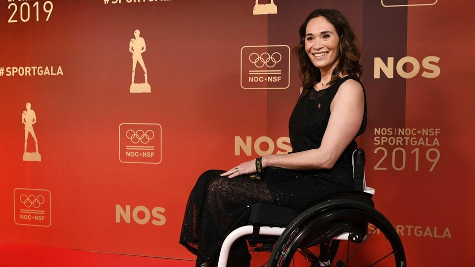 Die Paralympics-Athletin Bibian Mentel