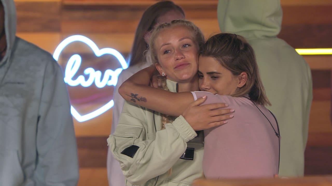Abschied von Lena. Andrina wird ihre Freundin vermissen