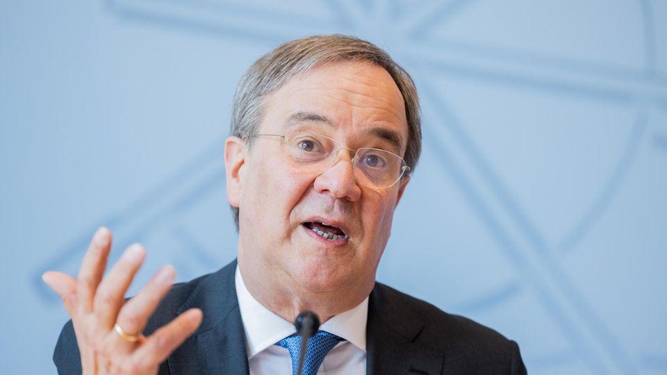 Armin Laschet (CDU), Ministerpräsident von Nordrhein-Westfalen und Kanzlerkandidat der Union